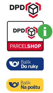 Kliknutím zobrazíte mapu: výdejní místa DPD ParcelShop (Doprava 59,-)