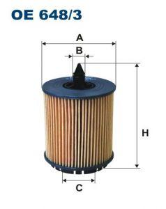 Olejový filtr Filtron OE 648/3
