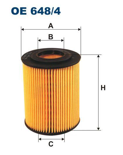 Olejový filtr Filtron OE 648/4