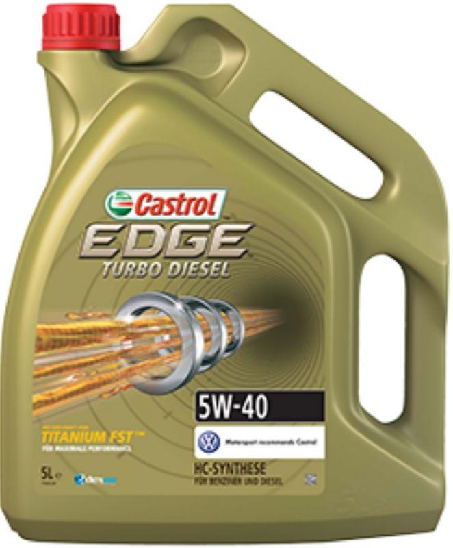 Castrol EDGE 5W-40 Turbo Diesel TITANIUM FST 5L