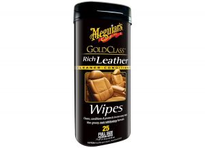 Meguiar's Gold Class Rich Leather Wipes ubrousky 25 ks