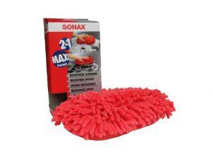 Mycí houba z mikrovlákna červená (1 ks) Sonax 428100