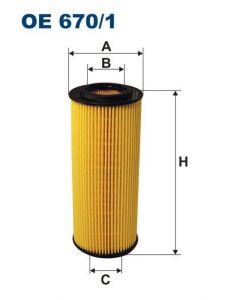 Olejový filtr Filtron OE 670/1
