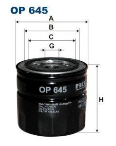 Olejový filtr Filtron OP 645