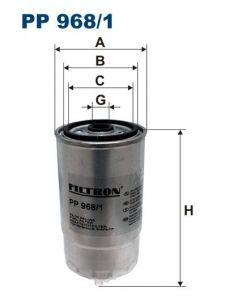 Palivový filtr Filtron PP 968/1