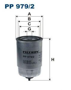 Palivový filtr Filtron PP 979/2