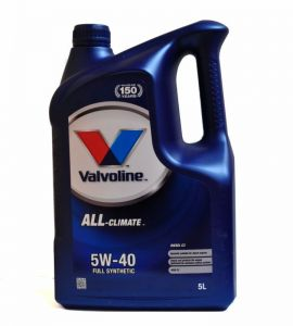 Valvoline All-Climate 5W-40 5 L