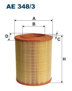 Vzduchový filtr Filtron AE 348/3