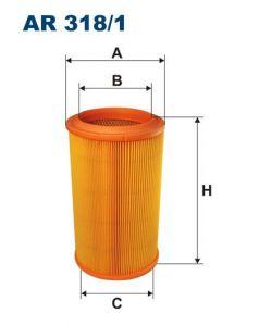Vzduchový filtr Filtron AR 318/1