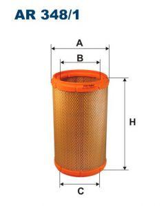 Vzduchový filtr Filtron AR 348/1