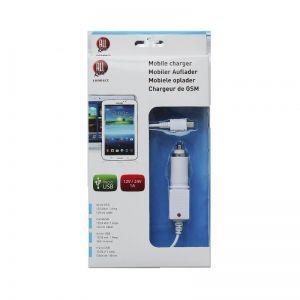 Autonabiječka Micro USB 1A 12/24V