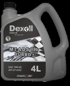 Dexoll 15W-40 M7ADSIII TURBO+ 4L
