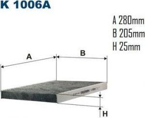 Kabinový filtr Filtron K 1006A