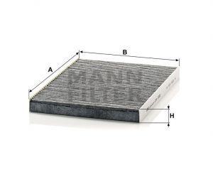 Kabinový filtr Mann-Filter CUK 2882