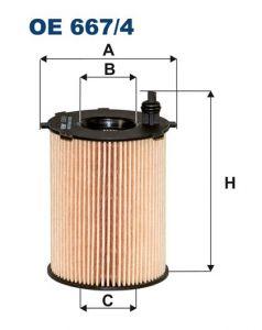 Olejový filtr Filtron OE 667/4