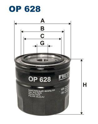 Olejový filtr Filtron OP 628