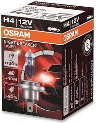OSRAM H4 12V 60/55W P43t Night Breaker LASER 1ks