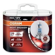 OSRAM H4 NIGHT BREAKER UNLIMITED, 12V, 60/55W Duobox, 2ks