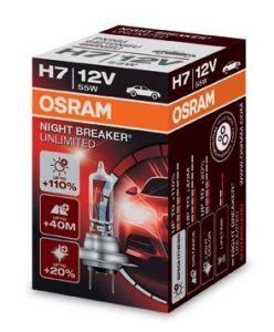 OSRAM H7 NIGHT BREAKER UNLIMITED, 12V, 55W, PX26d