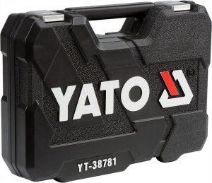 Profesionální gola sada obsahující 77ks YATO