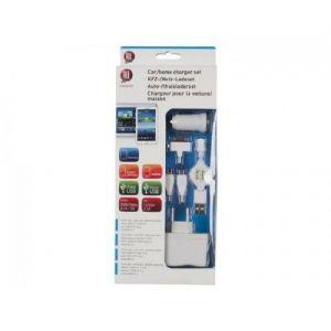 Souprava nabiječky Micro/Mini + domácí nabiječky  USB 2,1A 12/24V