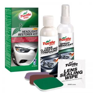 Turtle Wax - Headlight Restorer Kit-sada na obnovu světlometů