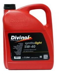 Divinol Syntholight 5W-40 5L