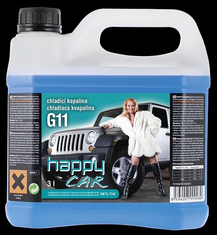 HAPPY CAR chladicí kapalina G11 3L SHERON