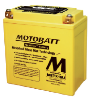 MotoBatt 12V/ 19Ah (P+L) MBTX16U