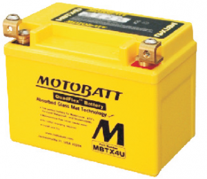 MotoBatt 12V/ 4,7Ah (P) MBTX4U