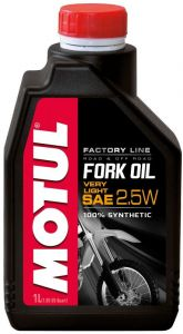 MOTUL Fork Oil Factory Line Very Light 2,5W 1L