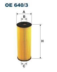 Olejový filtr Filtron OE 640/3