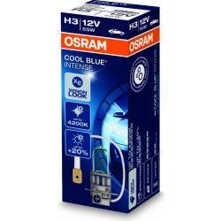 OSRAM H3 12V 55W PK22s COOL BLUE INTENSE
