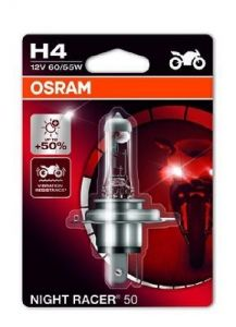OSRAM MOTO H4 60/55W night racer 50