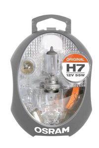 Osram sada náhradních žárovek H7