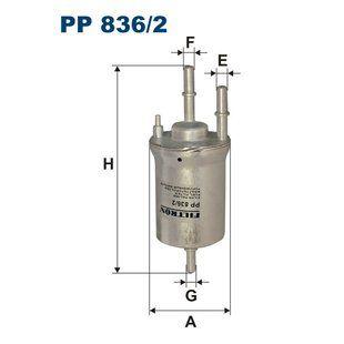 Palivový filtr Filtron PP 836/2