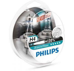 Philips H4 X-tremeVision 12342XV+S2 12V 60/55W ( Duobox 2ks )