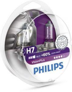 Philips H7 12V 55W VisionPlus 12972VPS2