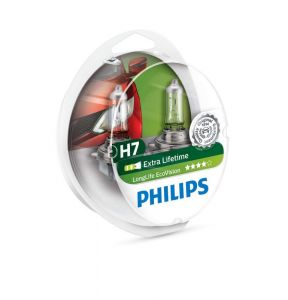 Philips H7 Long life EcoVision 12V ( duobox 2ks)
