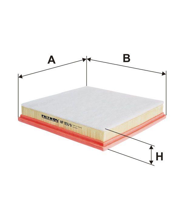 Vzduchový filtr Filtron AP 051/9