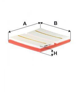 Vzduchový filtr Filtron AP 062/2