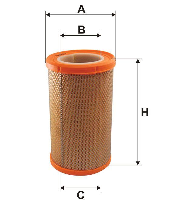 Vzduchový filtr Filtron AR 275/1