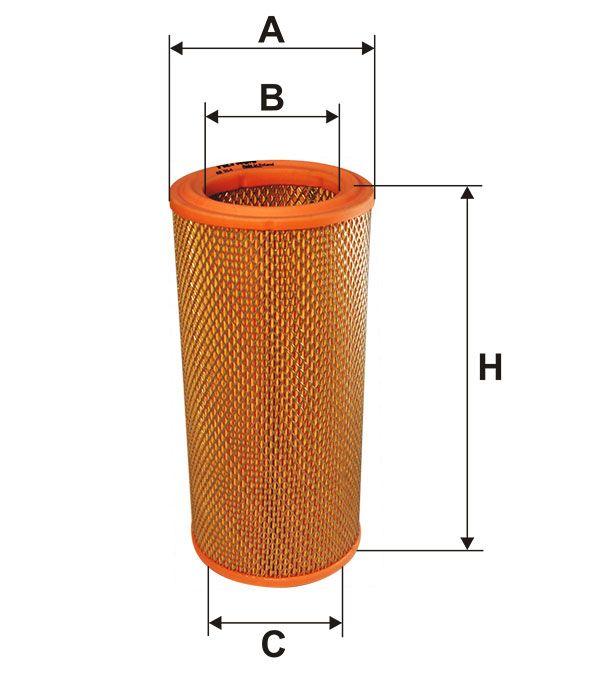 Vzduchový filtr Filtron AR 314