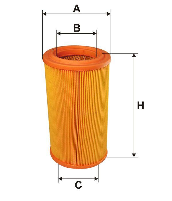 Vzduchový filtr Filtron AR 314/1