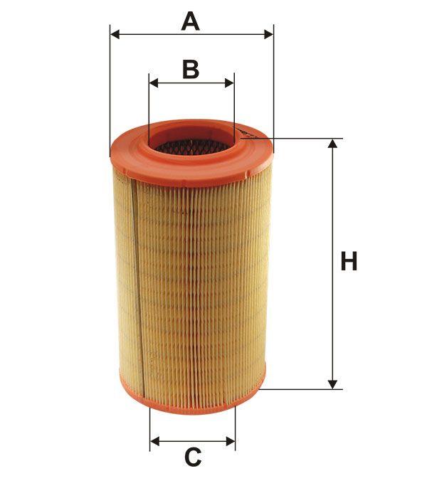 Vzduchový filtr Filtron AR 316