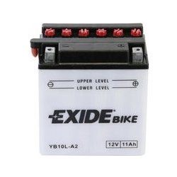 kopie MOTOBATERIE EXIDE CONVENTIONAL 12V 11AH 130A EB10L-A2