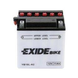 MOTOBATERIE EXIDE CONVENTIONAL 12V 11AH 130A EB10L-A2