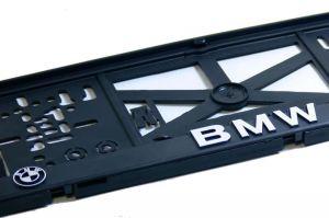 3D podložka pod SPZ BMW 2ks