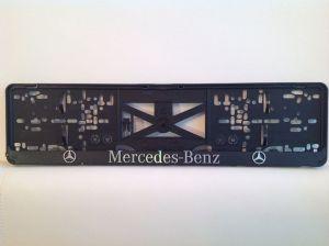 3D podložka pod SPZ MERCEDES 2ks