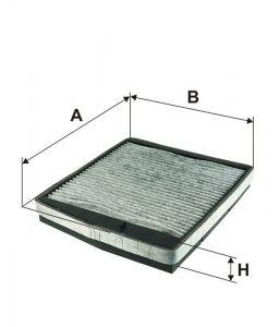 Kabinový filtr Filtron K 1126A